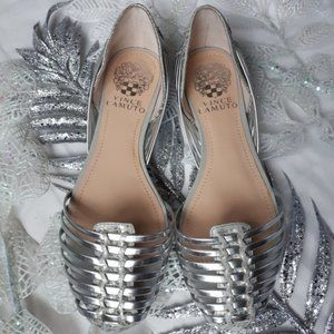 NWOB Vince Camuto Caprio Woven Flat Size 6.5